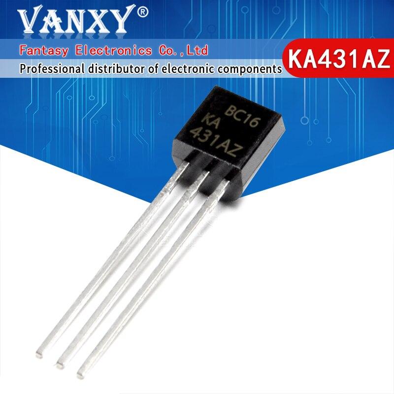 10 Uds KA431AZ TO92 KIA431 a 92 referencia de tensión chip