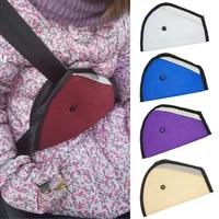 car kids triangle seat belt adjuster breathabl neck protection shoulder harness universal auto baby kids safety belt cover