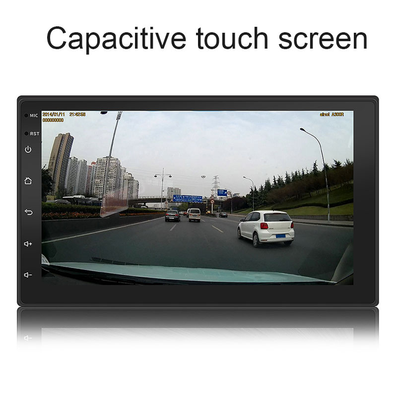 Car Radio GPS Navigation Android Car Stereo 7 Inch Car MP5 Player USB in Support Bluetooth WiFi GPS FM vk 162 gps g mouse usb gps navigation receiver module support for google earth windows android linux gmouse usb interface cp2102