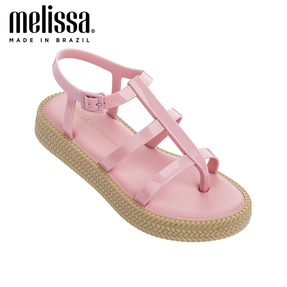 Melissa Caribe Verao plataforma + Salinas zapatos de jalea Mujer Sandalias de moda para adultos 2020 nuevas Sandalias de mujer Melissa Rome Sandalias