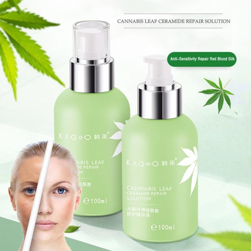100ml HEMP Leaf Ceramide Essence Facial Serum Care Cosmetics For Face Moisturizing Anti-Aging Akin C
