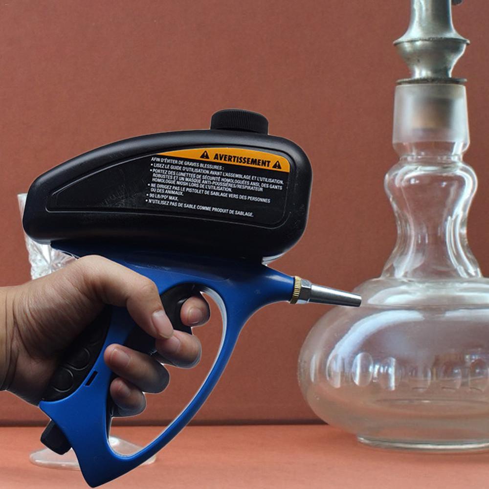 Anti-rust Sandblaster Air Compressed Glass Tombstone Sandblasting Machine with Small Nozzle