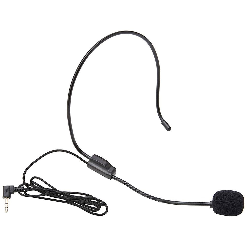 Portable Over The Head Wear a microphone Clip Microphone for Lectures Speech AG8 Microphone Headset