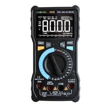 RM405B 20A gran multímetro Digital 8000 recuentos pantalla negra NCV AC/DC voltaje corriente Ohm temperatura