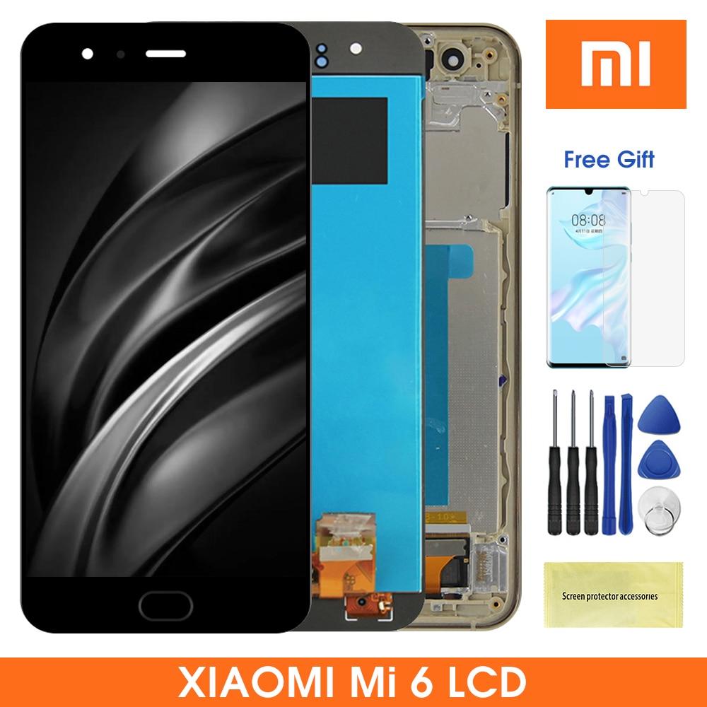 Pantalla Lcd Original Mi6 de 5,15 pulgadas para Xiaomi 6 MI 6, pantalla LCD con Panel de pantalla táctil, digitalizador de pantalla para Xiaomi Mi6