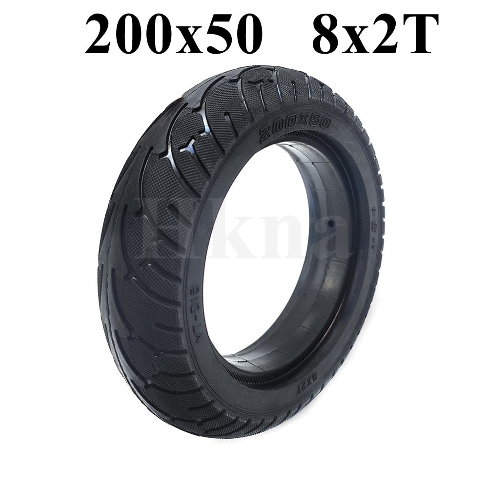 Neumático sólido 8X2T para Speedway mini 4 Pro, rueda trasera de 8...