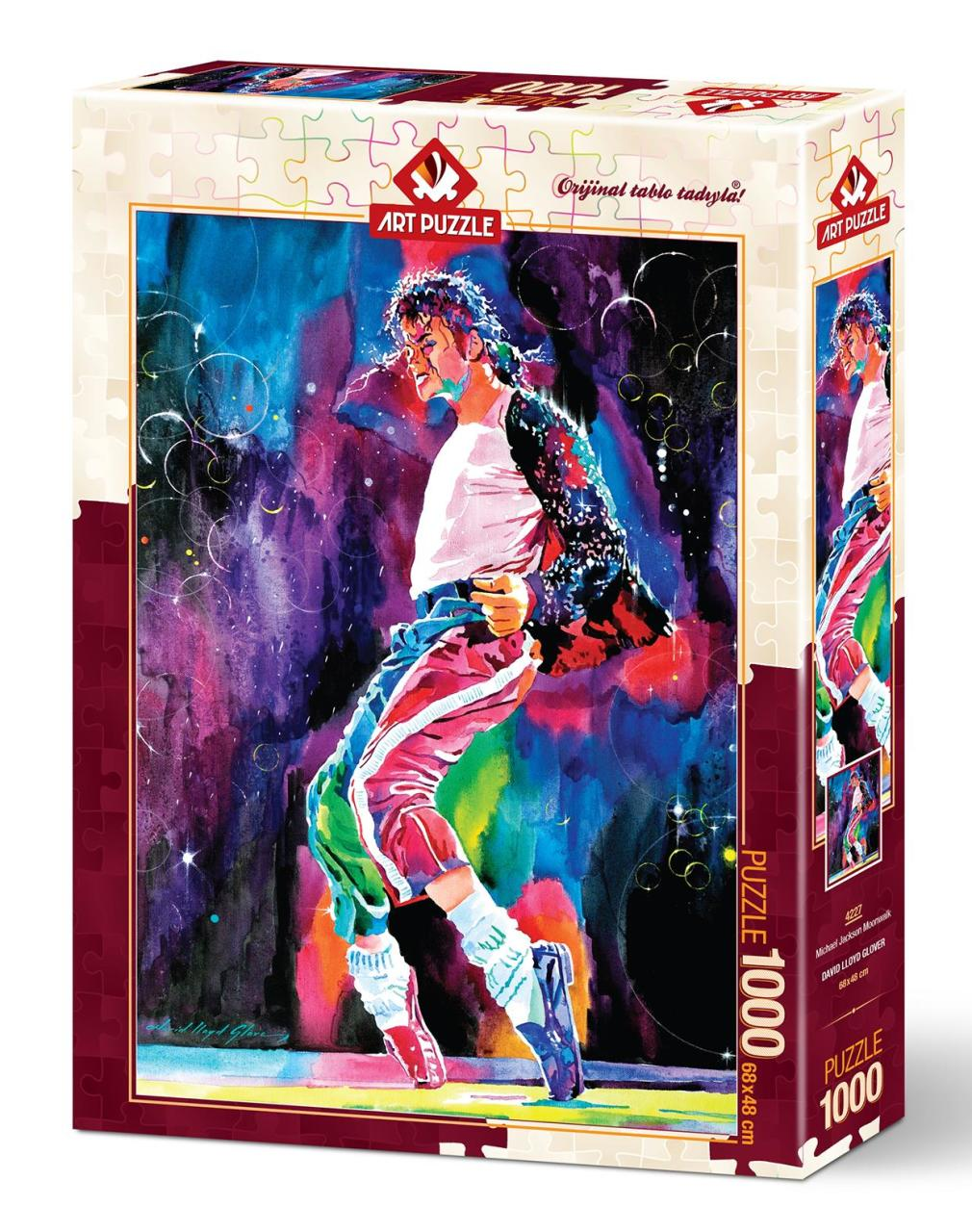 Художественный пазл Майкл Джексон Лунгун, 1000 деталей, пазл