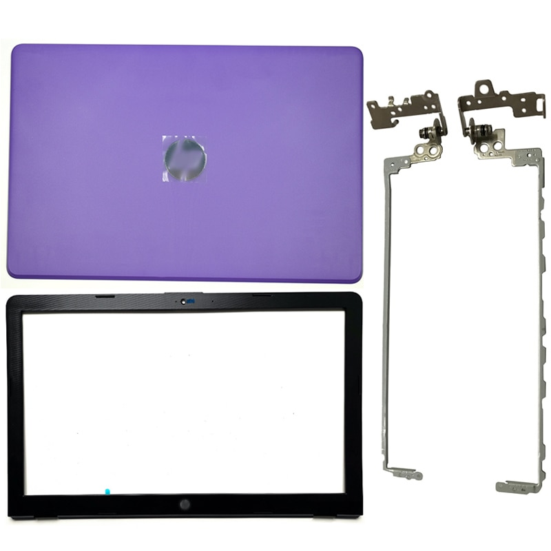 Cubierta trasera púrpura del LCD del ordenador portátil/bisel frontal/bisagras del LCD/caja inferior para HP 15-BS 15T-BS 15-BW 15Z-BW 250 G6 255 G6