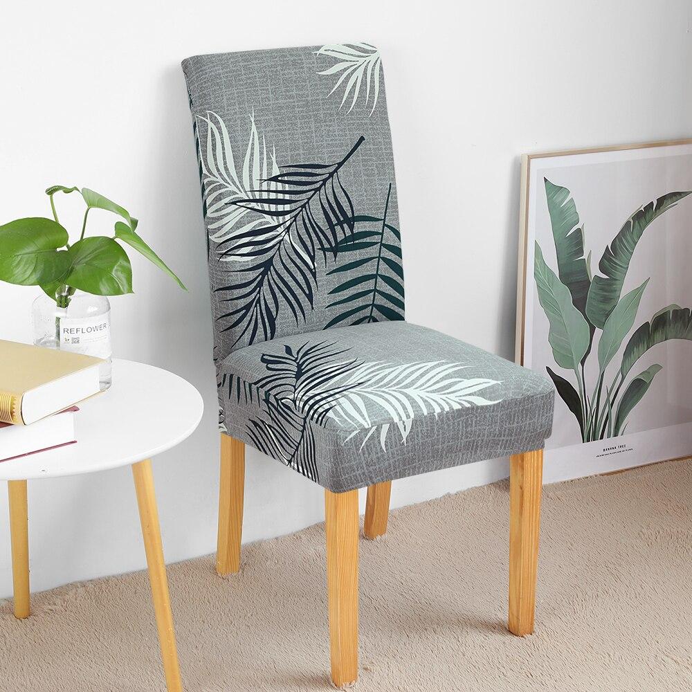 Cores cinzentas capa de cadeira elástica grande assento capas de cadeira pintura slipcovers restaurante banquete hotel decoração para casa