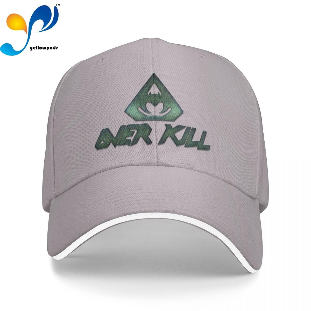 Бейсболка, мужские модные кепки Overkill, шапки для логотипа, мужская шапка для отца, кепка для мужчин, Кепка-тракер