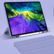 Custodia GOOJODOQ per iPad Pro 11 2020 custodia per iPad Air 4 custodia Air 2020 10.2 Pro 11 12.9 12 9 2021 per iPad 8a generazione 8 Funda