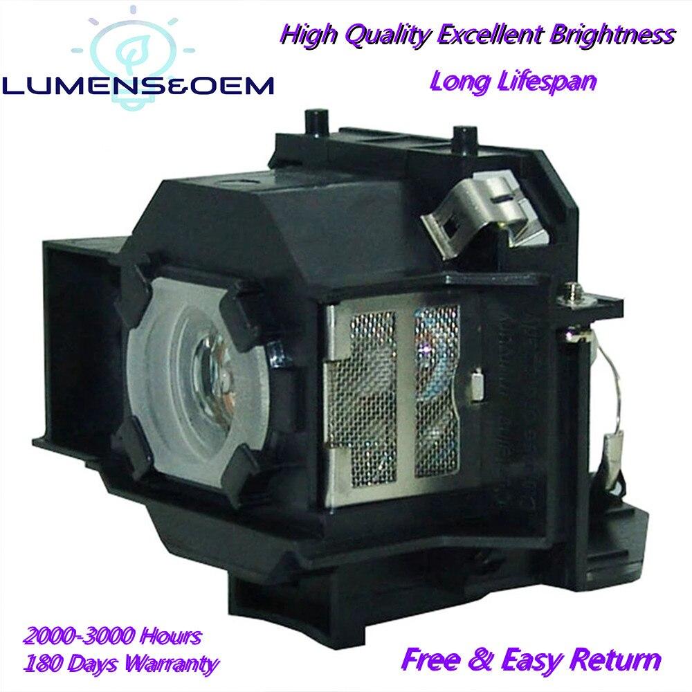 Люмен & OEM для ELPLP33 EMP-S3/EMP-S3L/EMP-TW20/EMP-TW20H/EMP-TWD1/EMP-TWD3/домашний 20/MovieMate 25 для Epson