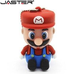 Fashion pen drive usb-stick Super Mario 4G 8G 16G-sticks cartoon mary usb-stick 32gb 64gb speicher schlüssel geschenk