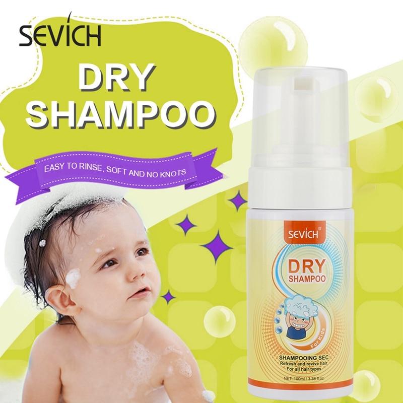 SEVICH-champú seco de Limpieza del cabello suave para chico, planta desechable refrescante,...