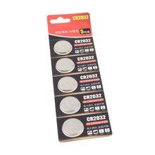 5 Pièces Au Lithium 3V Piles Bouton Batterie ECR2032 CR2032 5004LC KCR2032 B85B
