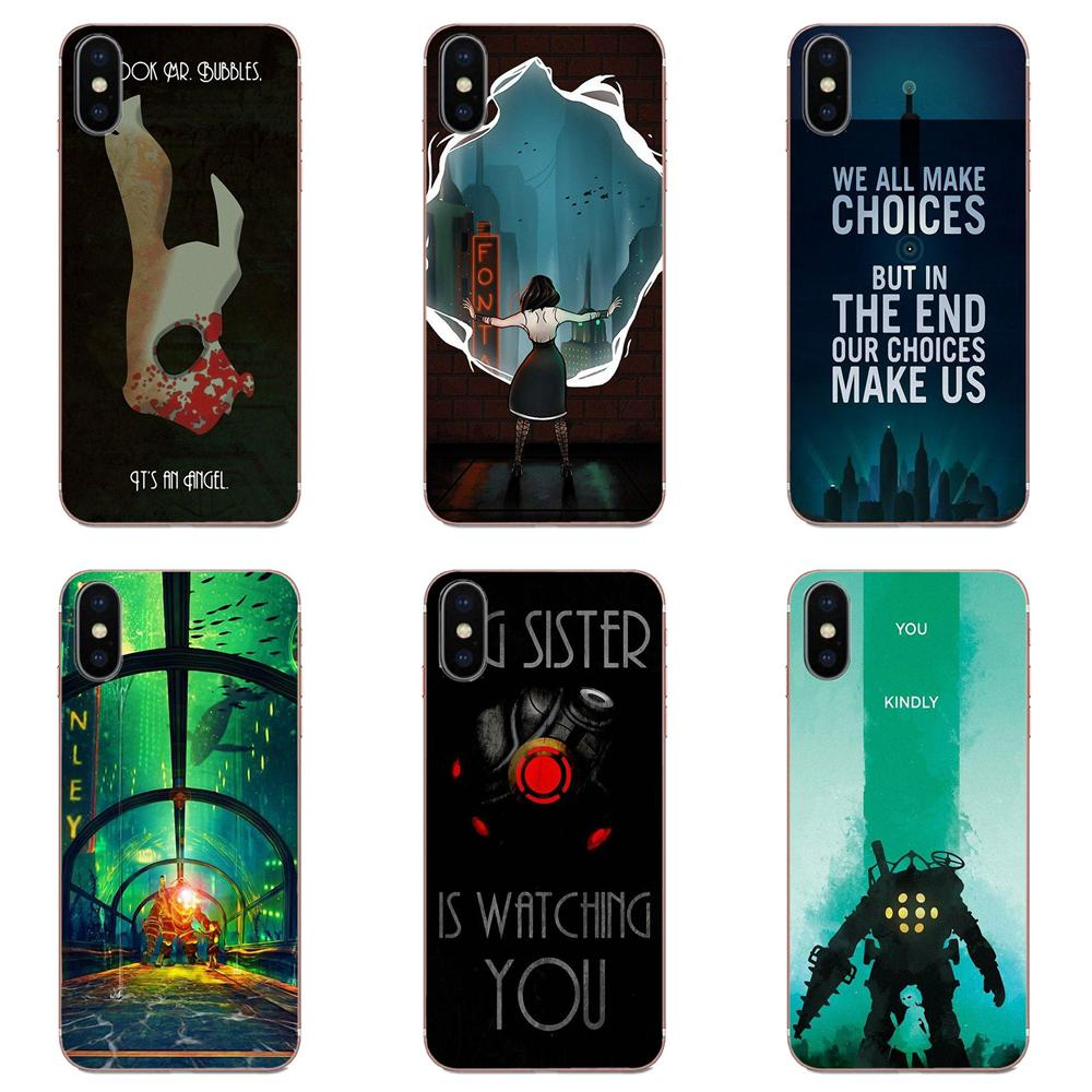Bioshock Infinite House Fitzroy Booker Elizabeth For Apple iPhone 4 4S 5 5C 5S SE SE2 6 6S 7 8 11 Plus Pro X XS Max XR