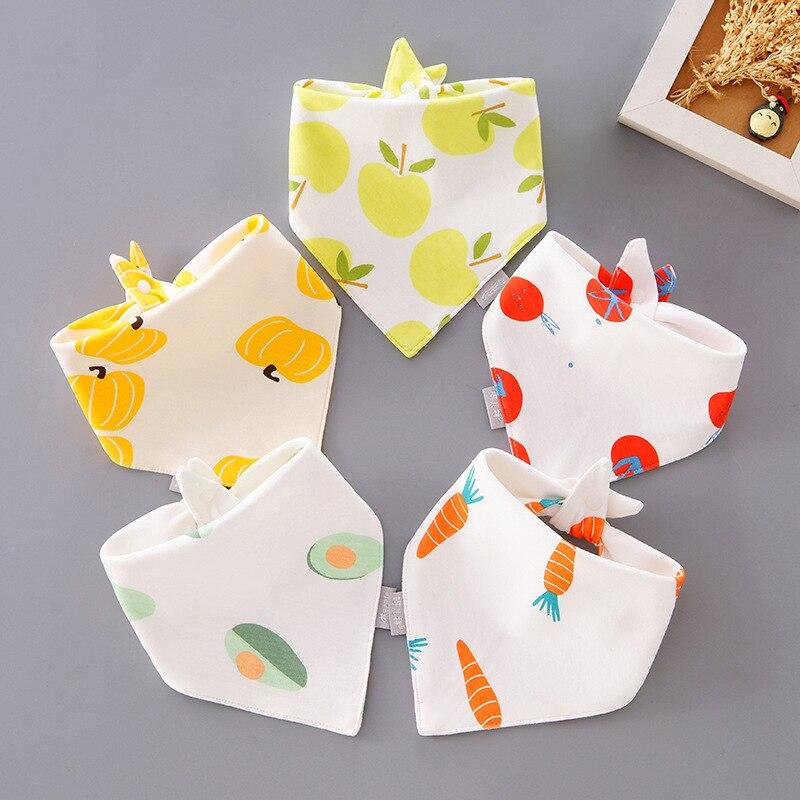 Bébé bavoirs Triangle écharpe Bandana coton Baberos infantile filles garçons bavoir alimentation Smock manger des vêtements bébé choses pour les nouveau-nés