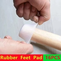 481216pcs table chair leg silicone cap pad furniture rubber feet cover floor protector non slip mat caps foot protection