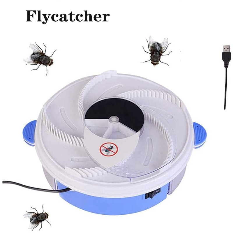 USB Flytrap Automatic Pest Catcher Fly Killer Electric Fly Trap Device Insect Pest Reject Mosquito Effective Fly Trap недорого