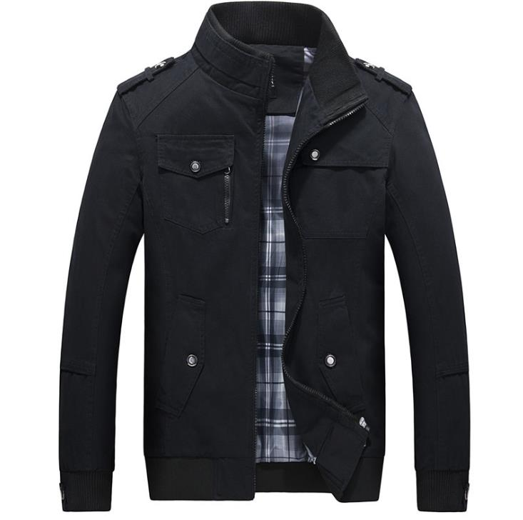 S-5XL homens tamanho grande casual longo jaqueta primavera outono masculino negócios windbreak fina outwear parka solto varsity bombardeiro casaco qq120