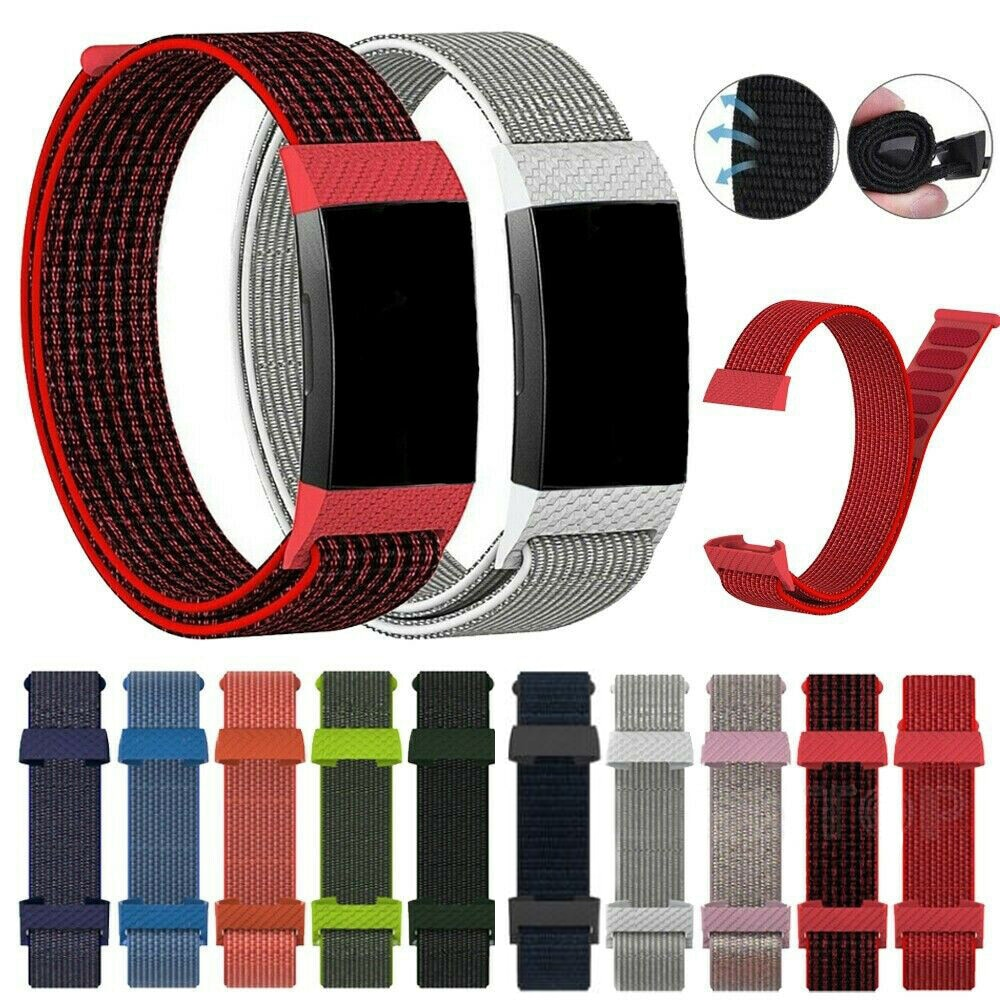 1Pc Fashion Velcro Sport Wristband Watch Band Adjustable Woven Nylon Replacement Bracelet Loop Strap