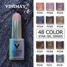 VINIMAY Bling Glitter Gel Polish Nail Gel Varnish UV Soak Off Gellak Gelpolish Nail Art Design Primer Manicure Nails Gel Lacque