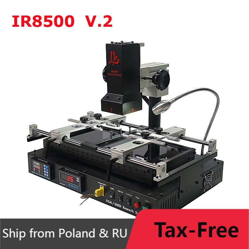LY IR8500 V.2 Infrared BGA Rework Station 220V IR Soldering Station Reballing Kit for Motherboard Mobile Phone Chip Repairing