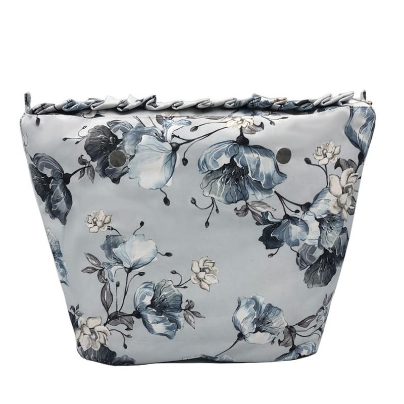TOP Lace Classic Mini Waterproof Lining Inner Zipper Pocket insert with inner coating For Obag O bag women's bag handbag