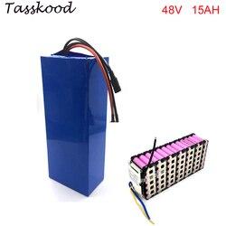 48 v 15ah baterias elétricas da bicicleta do volt e do bloco 13s6p samsung 48 da bateria do íon do lítio de ebike para o motor de bafang 1000w 750w 500w 350w