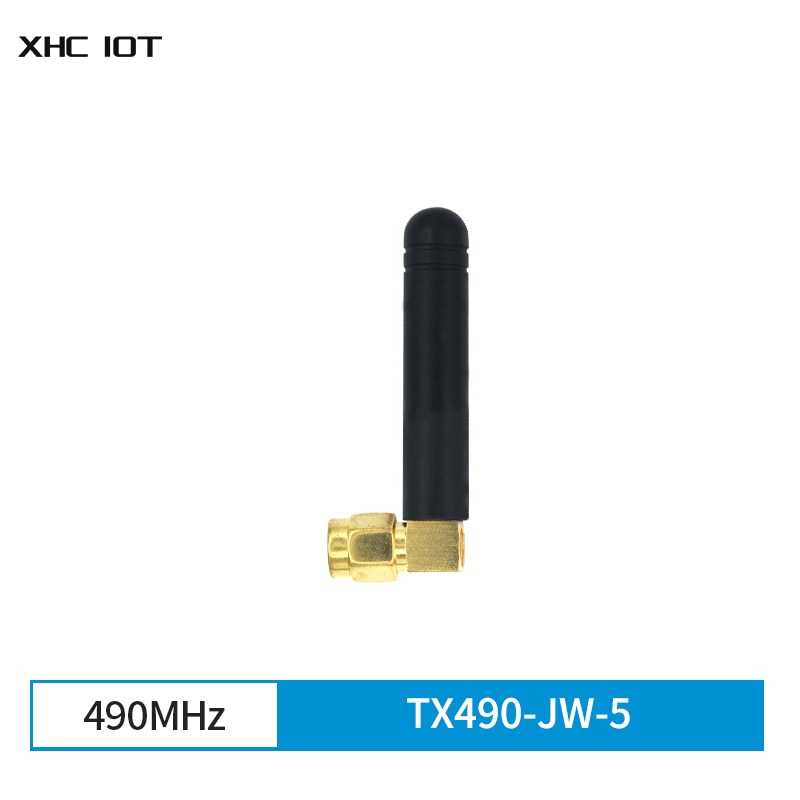 10pcs/lot 490MHzOmnidirectional 2dBi SMA-J 2dBi 50ohm XHCIOT TX490-JW-5 Flexible Omnidirectional Aerial for Communication
