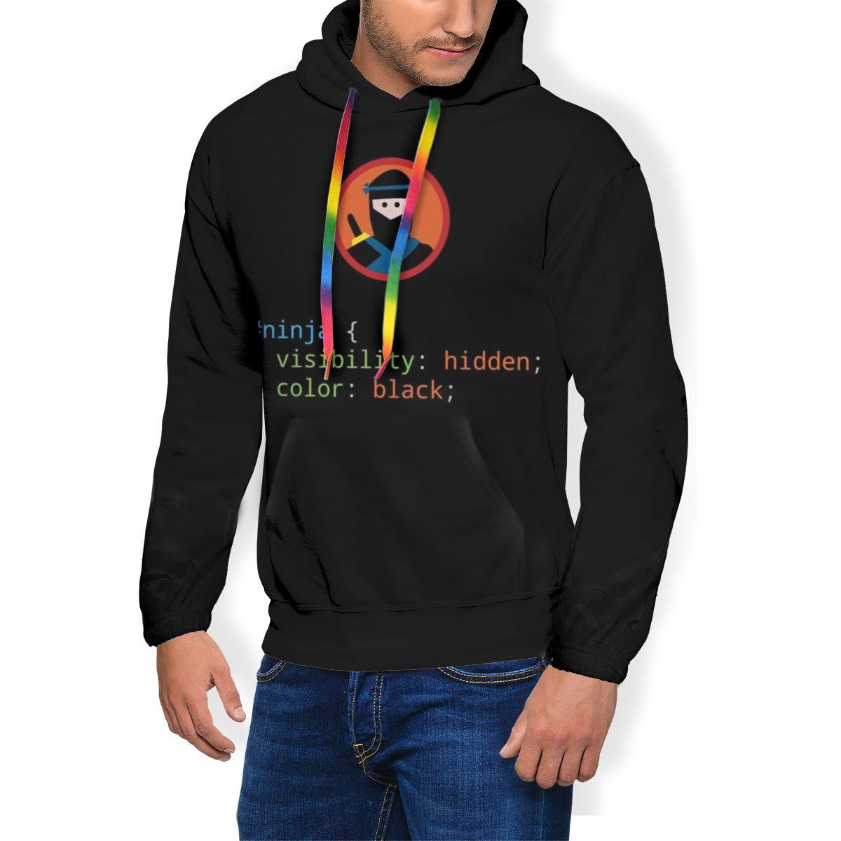 Ниндзя худи CSS каламбур-толстовки ниндзя Красный Уличная одежда пуловер с капюшоном классный комплект для мальчиков осенний шерстяной длин...