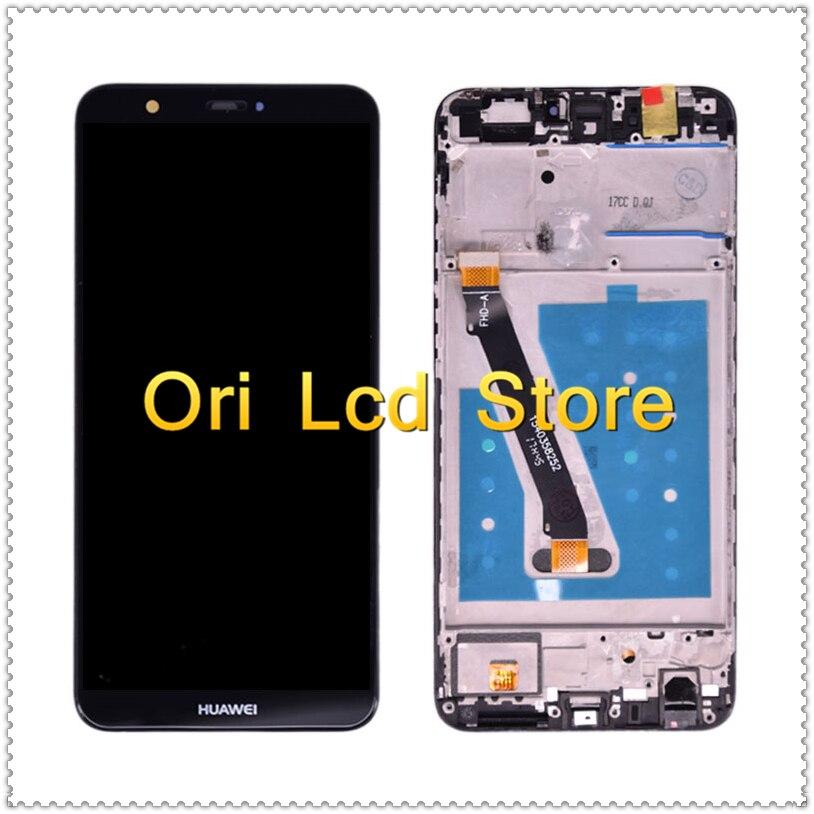 Pantalla LCD con marco para Huawei P LCD de pantalla inteligente Huawei P inteligente 2018 LCD LX1 LX3 pantalla LCD pantalla táctil pantalla original