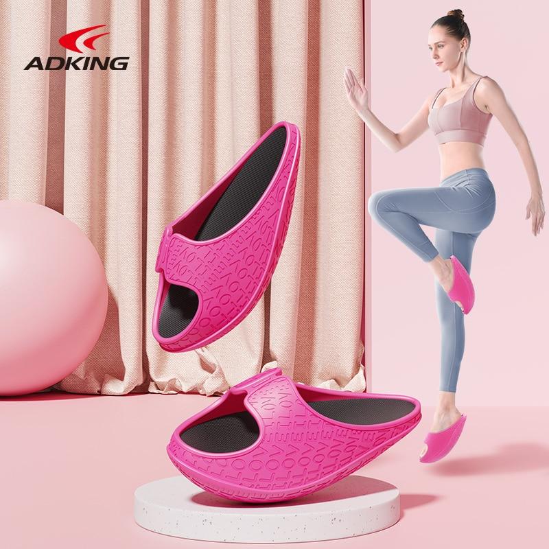 ADKING Japanese Yoga Stretching Swing Shoes Walking Sports EVA Beautiful Leg Stretching Half-Palm Ne