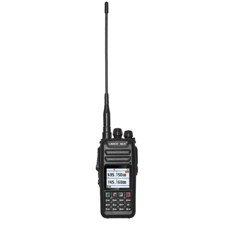 UV-78 Wireless Bluetooth Walkie Talkie VHF&UHF 128CH Dual Band Dual Display  Handheld HF Transceiver Flashlight For Vimoto Sena enlarge