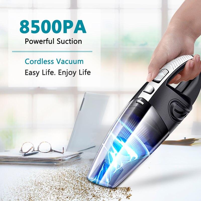 2021 Новый беспроводной пылесос для автомобиля, беспроводной пылесос, ручные автомобильные пылесосы, Мощное всасывание