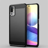 for xiaomi redmi note 10 5g case for redmi note 10 5g cover shockproof carbon fiber protective phone bumper for redmi note 10 5g