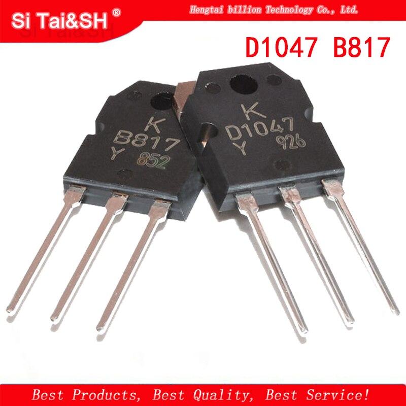 5 шт. 2SD1047 D1047 2SB817 B817 аудио усилитель трубка оригинальная Подлинная Интегральные схемы      АлиЭкспресс