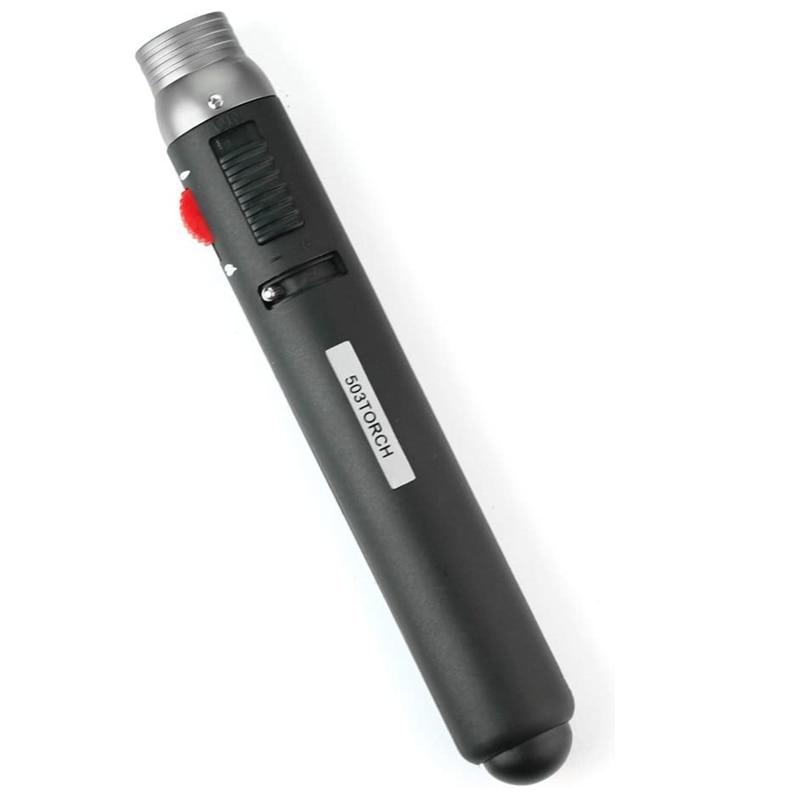 Барбекю купить мини струйный карандаш пламя 503 фонарь бутановый газ Топливо сварочная зажигалка с пайкой струйное пламя портативная ручка ...