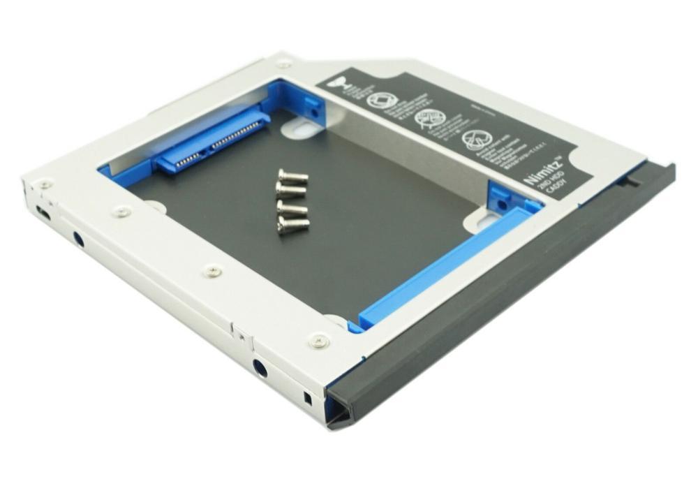 Новый Специальный 2-й HDD SSD Caddy для hp EliteBook 8560 Вт 8570 Вт 8760 Вт 8770 Вт чехол для жесткого диска с ободком