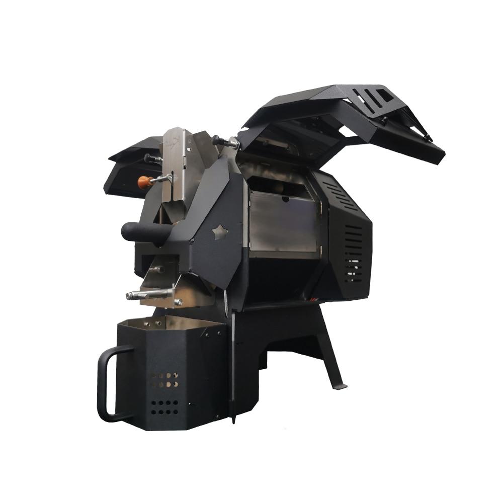 Kaleido Stainless Steel M2 Coffee Roaster Backing Coffee Beans