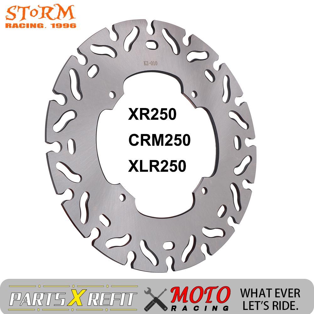 Exterior da motocicleta 240mm dentro 118mm rotor disco de freio dianteiro para honda xr250 crm250 xr250 xr crm xlr 250 motobike accessries