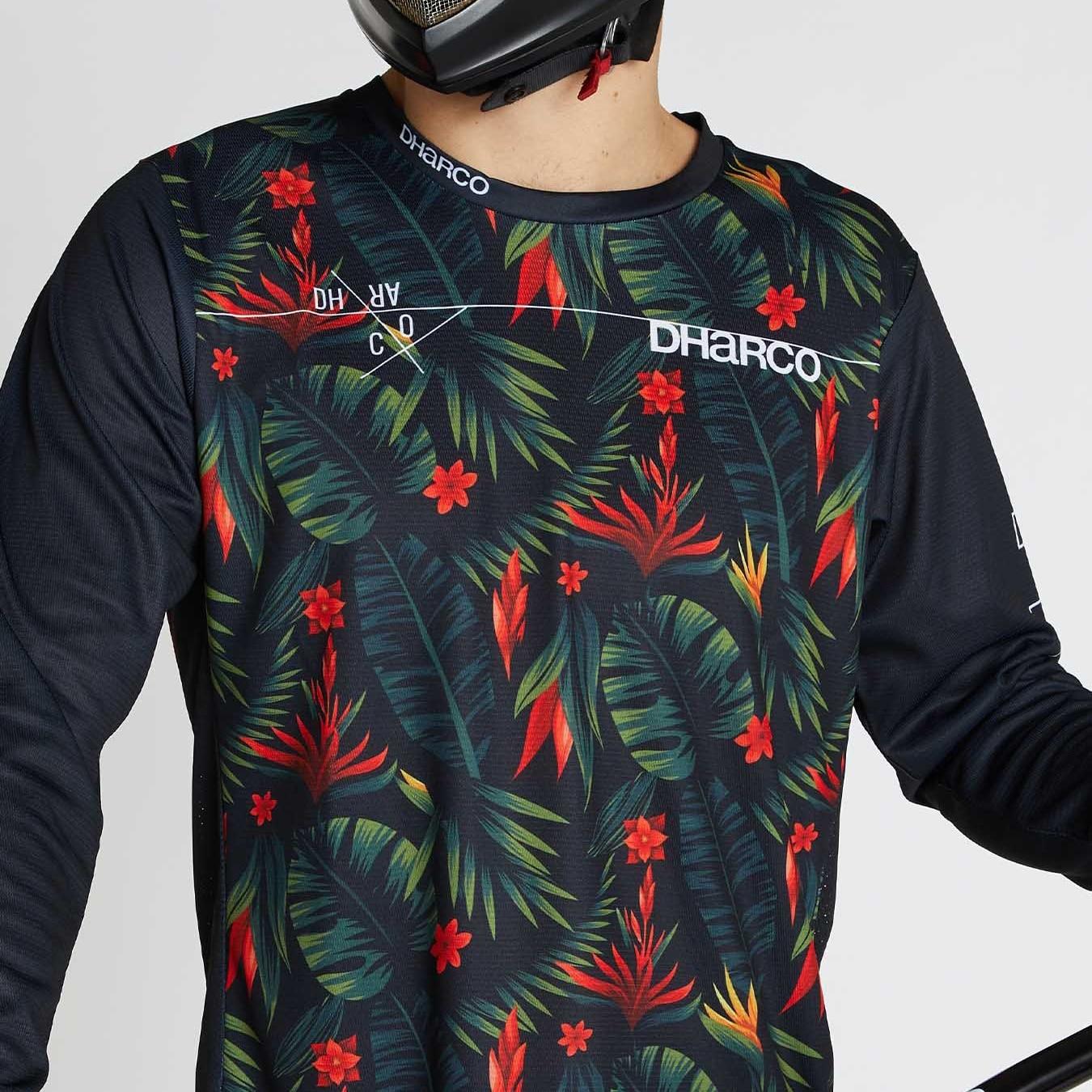 DHaRCO-Camiseta de manga larga para Motocross para Hombre, Maillot de secado rápido,...