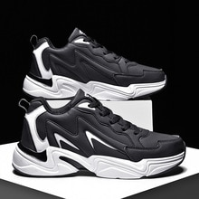 Brand PU Running Shoes Men Rubber Platform Sports Shoes For Male Size 36-45 Zapatillas Hombre Mens S
