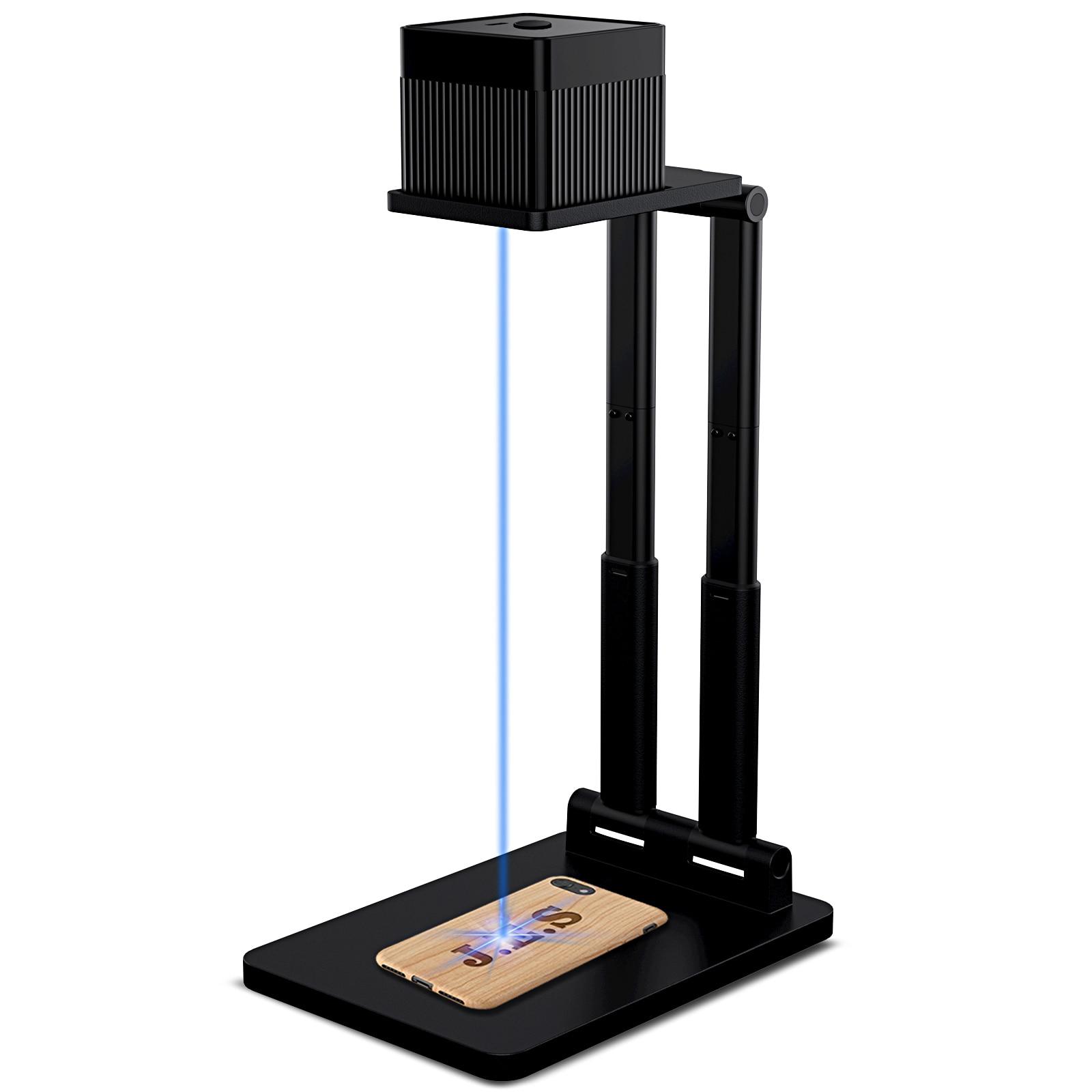 NEW LC100 Laser Engraver 3D Printer Engraving Machine Desktop Etcher Cutter Engraver with Bracket Portable With Bluetooth