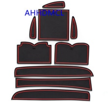 Car Door Groove Mat Gate Slot Cup Armrest Storage Pad Mat For Infiniti QX50 EX 2015