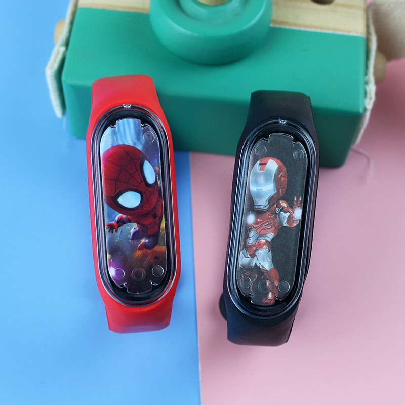 New Bracelet White Light LED Children Watches Girls Cartoon Electronic Sports Clock kids Watch For B