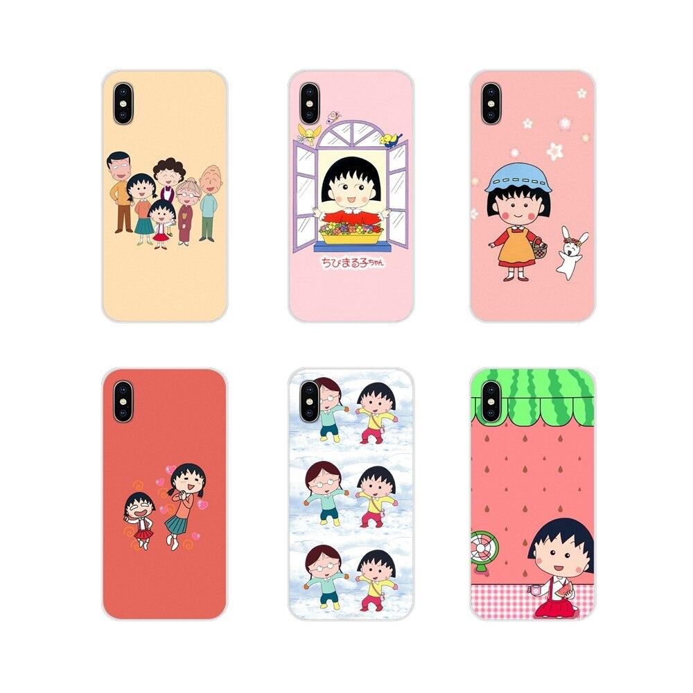 Sakura Momoko Chibi Maruko Chan para Huawei Mate Honor 5X 6X 7 7A 7C 8 9 10 8C 8X 20 30 Lite Pro accesorios de la cáscara del teléfono cubre