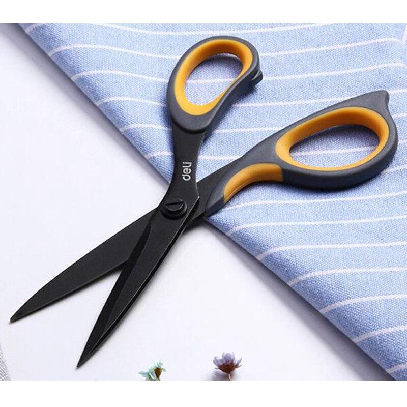 Tijeras de corte para costura, tijeras de corte, cortador de acero inoxidable, bordado, punto de cruz, agarre suave, accesorio de tijeras escolares