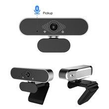Webcam pc usb full hd 1080p caméra web pour ordinateur webcam windows10 micros веб камера с микрофоном avec Trépied De Bureau