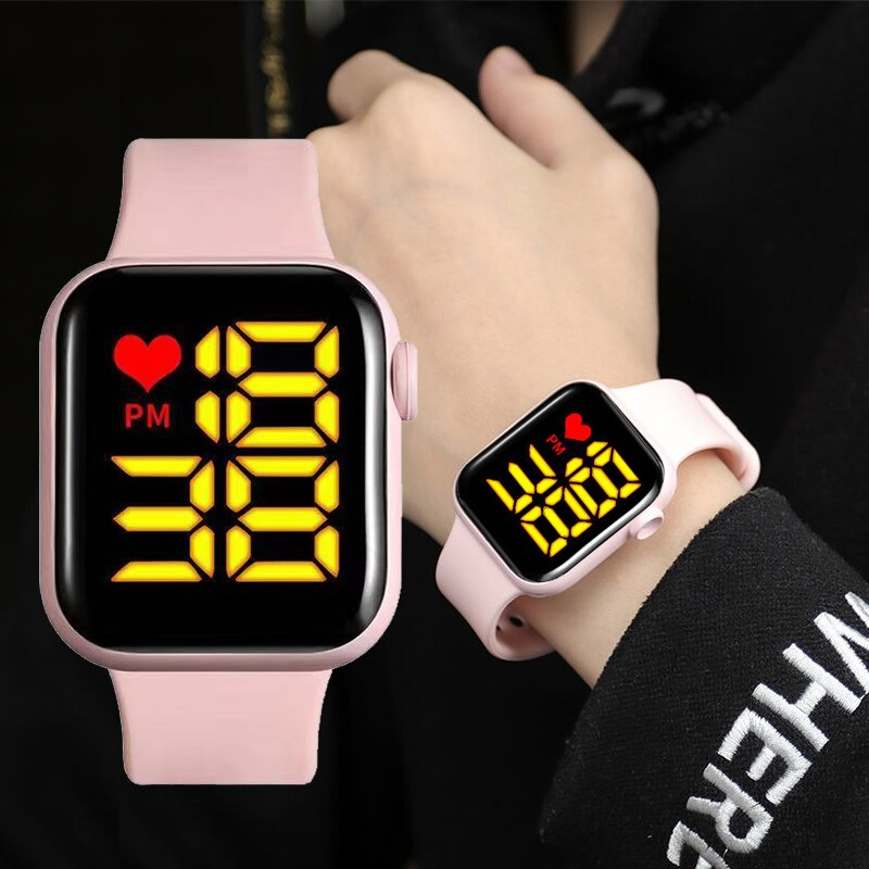 Fashion Women Led Watches Waterproof Electronic Digital Display Ladies Wrist Watch For Women Female Wristwatch Relogio Feminino